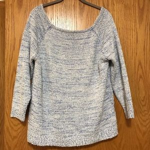 Cozy off the shoulder sweater. WORN ONCE.